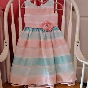 Girls Pastel Color Dress